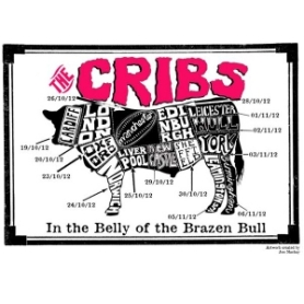 The Cribs Tour Poster
