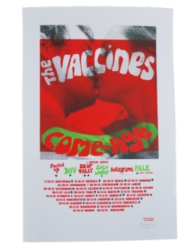 Vaccines tour poster.